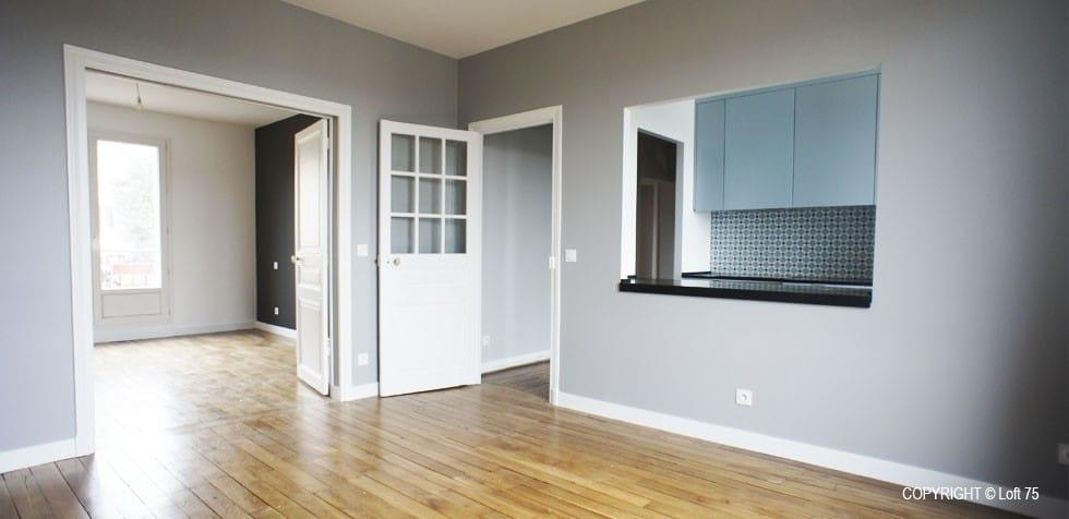 Rénovation petit appartement Paris Saint-Cloud