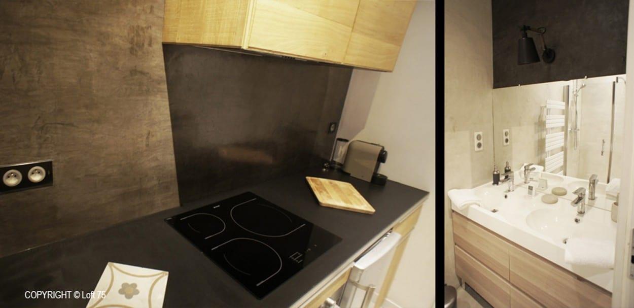Rénovation et décoration avec division d'un appartement familial - Sarlat-la-Canéda - Périgord Noir