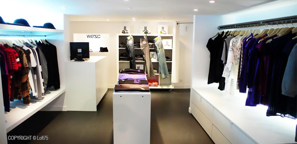 Rénovation du magasin WESC