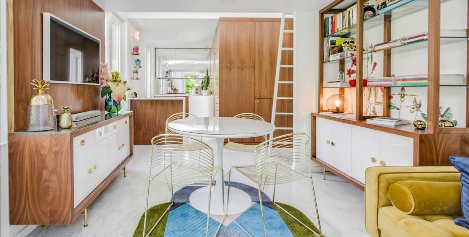 Réhabilitation lourde de combles esprit Loft d'un particulier 92 Hauts-de-Seine Saint-Cloud design by Loft 75 - Design & Architecture d'Intérieur Paris Saint-Cloud Fontainebleau Saint-Tropez