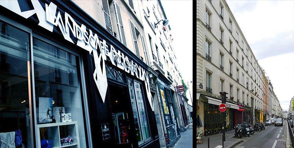Travaux Shop Street Wear Landscape Rockshop boutique rue Keller Paris 11ème 75011 Loft 75 Design et Architecture d'Intérieur
