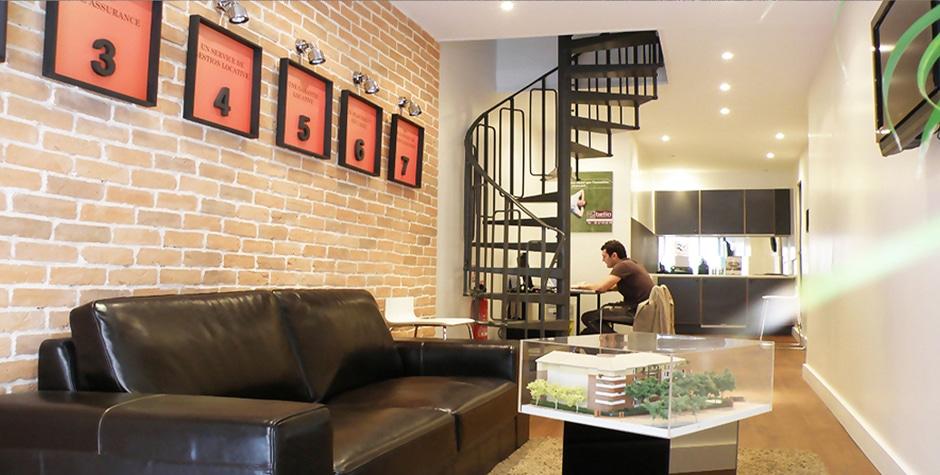 Travaux Boutique Investissement Immobilier StoneBox rue Laffitte Paris 9ème 75009 Loft 75 Design et Architecture d'Intérieur