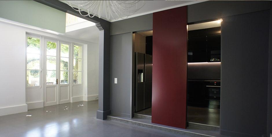 Val d'Oise travaux réhabilitation lourde maison Saint-Gervais Val-d'Oise 95 loft75 design et architecture d'intérieur