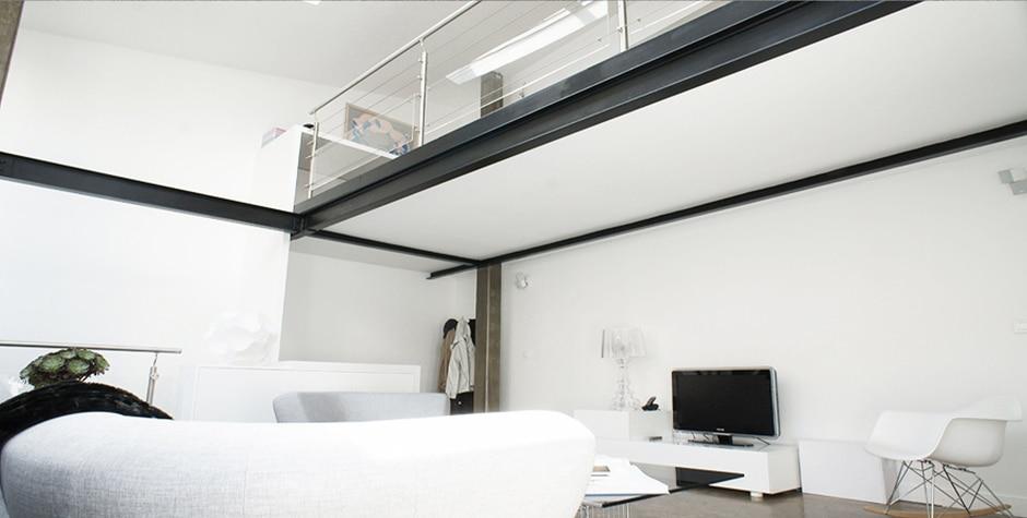 travaux appartement rue de Nice paris 11ème 75011 loft75