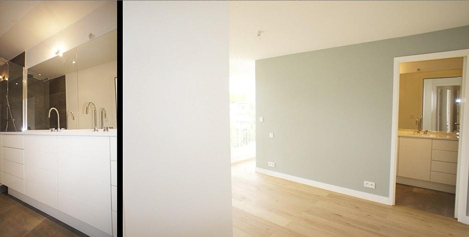 Hauts-de-Seine rénovation contemporaine appartement Saint-Cloud 92 loft75 architecture d'intérieur et décoration