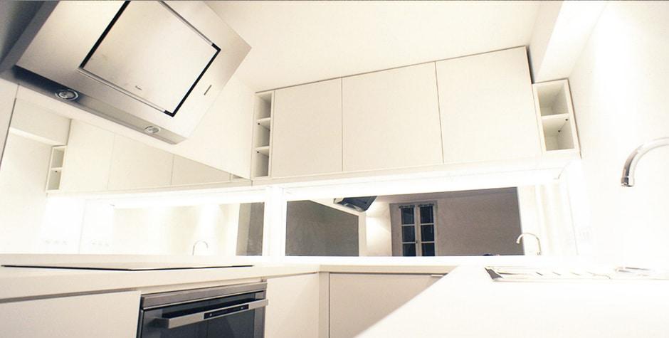 Le Marais rénovation duplex particulier rue des Francs Bourgeois Paris 3ème 75003 loft75 architecture d'intérieur et design