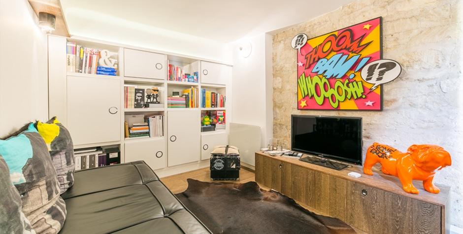 Appartement d'un particulier Atelier souplex Hauts-de-Seine 92 Saint-Cloud design by Loft 75 - Design & Architecture d'Intérieur Paris Saint-Cloud Fontainebleau Saint-Tropez