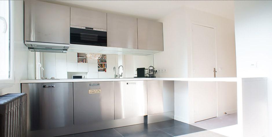 Montorgeuil travaux appartement rue Tiquetone paris 2ème 75002 loft75