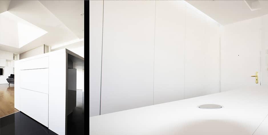 Rénovation Cuisine Boulevard Carnot Carrières-sur-Seine 78 Yvelines Loft 75 Design & Architecture d'Intérieur