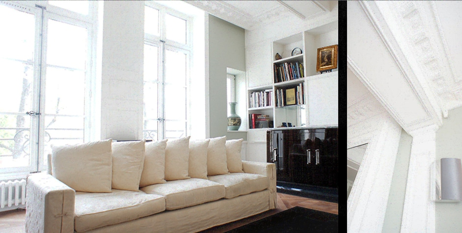 Ile-Saint-Louis travaux appartement duplex quai d'anjou paris 4ème 75004 loft75