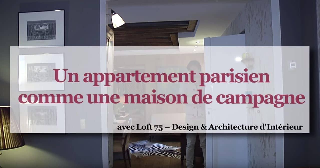 Faire de son appartement parisien une maison de campagne