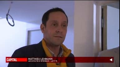 Reportage Capital M6 Architecture Loft 75